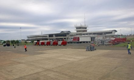 R185m upgrade for East London airport