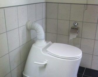 New generation solar powered urine diversion toilet