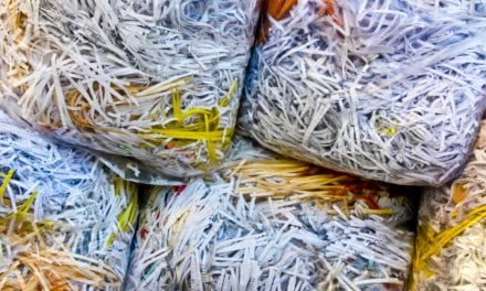 Using shredded plastic shopping bags in civil engineering projects