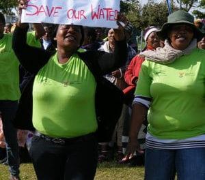 SA water under pressure