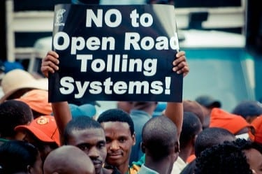 "E-toll postponement ""political expediency"""