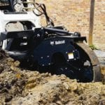 Trench compactor for neatly packed trenches