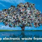 E-waste collection drive today!