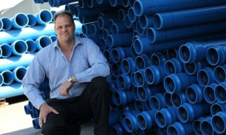 mPVC Pressure pipes ideal for bulk water applications