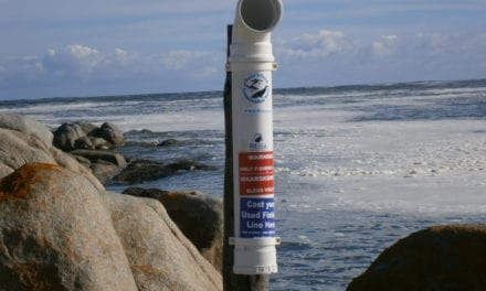 More fishing line bins rolled out on SA coastline