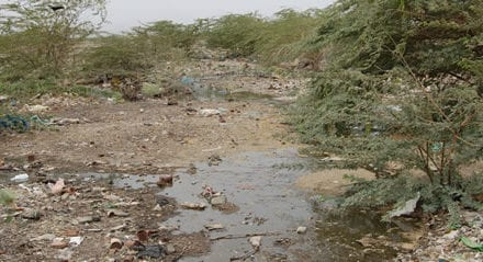 Itawa residents demand clean water