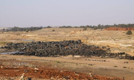 Tyre recycling plan halted