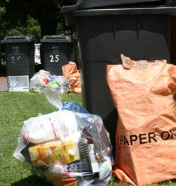 Alleviating negative attitudes towards recycling