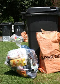 Alleviating negative attitudes towards recycling