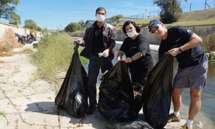 Continental cleans Smelly Creek in support of World Water Day