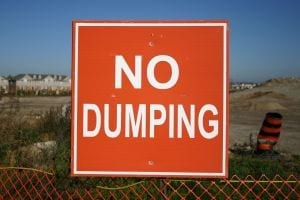Battle to curb illegal dumping continues