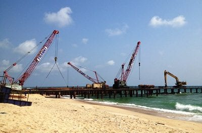 Forging ahead with coastal protection works