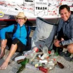 CAN DO! Trekking for Trash duo reach the finish line