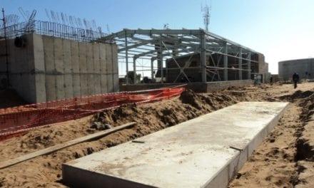 Seawater desalination plant in Lamberts Bay