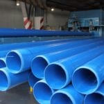 New extrusion line enables DPI Plastics to produce 630 mm PVC pipes