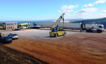 Component transport for R475m wind turbine project begins