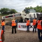 Terex hosts international visitors