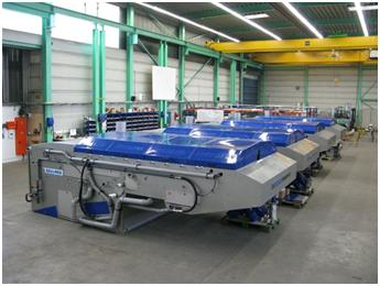 Leading belt press technology supplied to the Waterval Waste Water Treatment Works