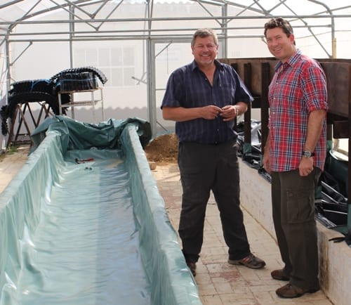 Mining Company supports research into Aquaponics