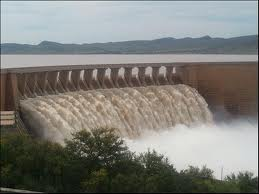Dams overflow due to heavy rain