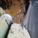 Kaytech's Bidim solves groundwater drainage problem