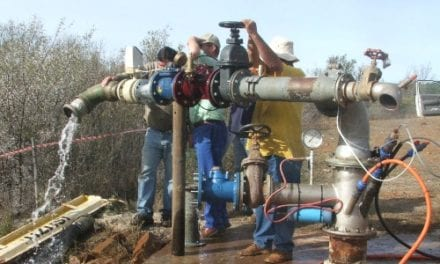 New wellhead for hydraulic tests of strong artesian boreholes