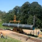 Pipeline project brings clean water to Pemba