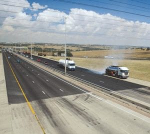 South African freeway image