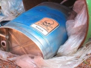 Toxic waste: options for treatment and disposal