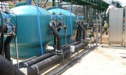 Pressure filters in wastewater treatment