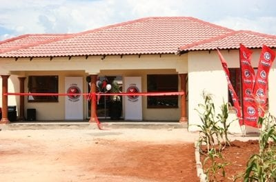 Company provides homes for employees