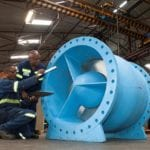 Giant nozzle check-valve biggest yet from DFC