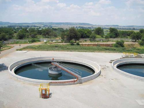 R300 million for wastewater treatment plants