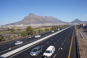 Cape Town freeway image
