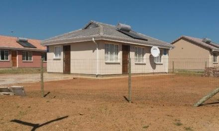 New housing development progressing