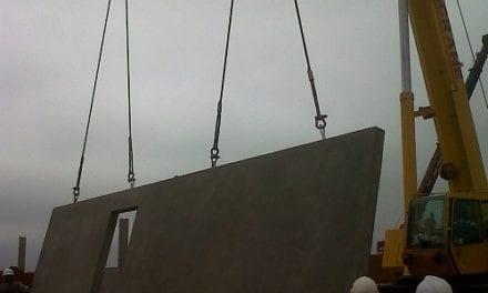Tilt-up construction for municipal infrastructure