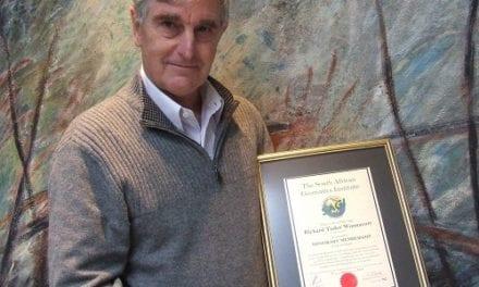 SAGI awards geodesy expert honorary membership