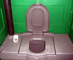 Chemical toilets 'Violate Human Rights'