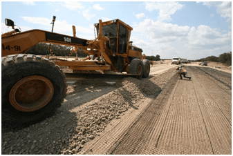 Geosynthetics in pavements