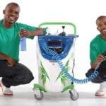 Waterless carwash innovation hits export market