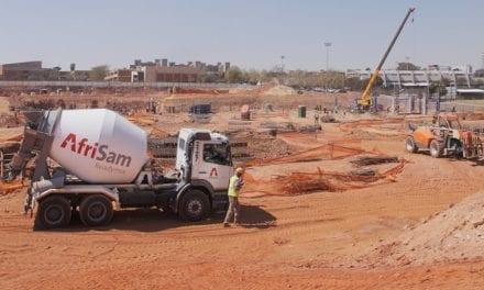 Construction continues on Nelson Mandela Children's Hospital