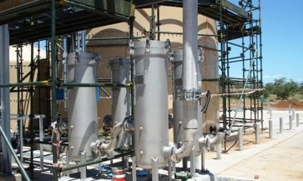 Oily water separation technology