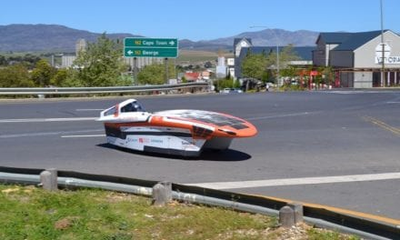 UJ solar car team win technology and innovation award