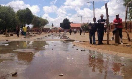 State sets money aside for Bekkersdal sewer upgrade