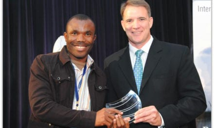 SA water professional wins International water award