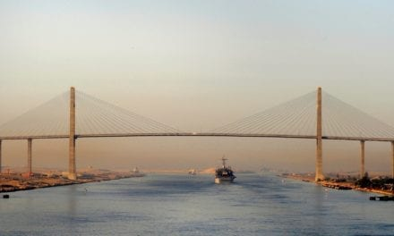 Sediment basin collapses in Suez Canal Project