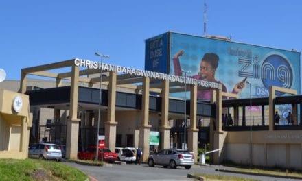 Sewage runs through Johannesburg hospitals