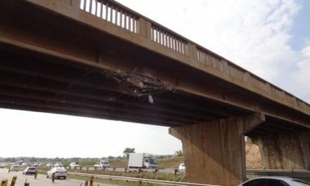 East Road Bridge unsafe for road users