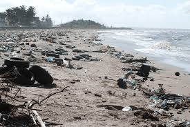 Plastics ocean pollution costs governments millions