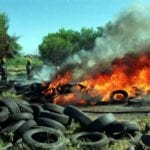 Why burning waste tyres is a bad idea
